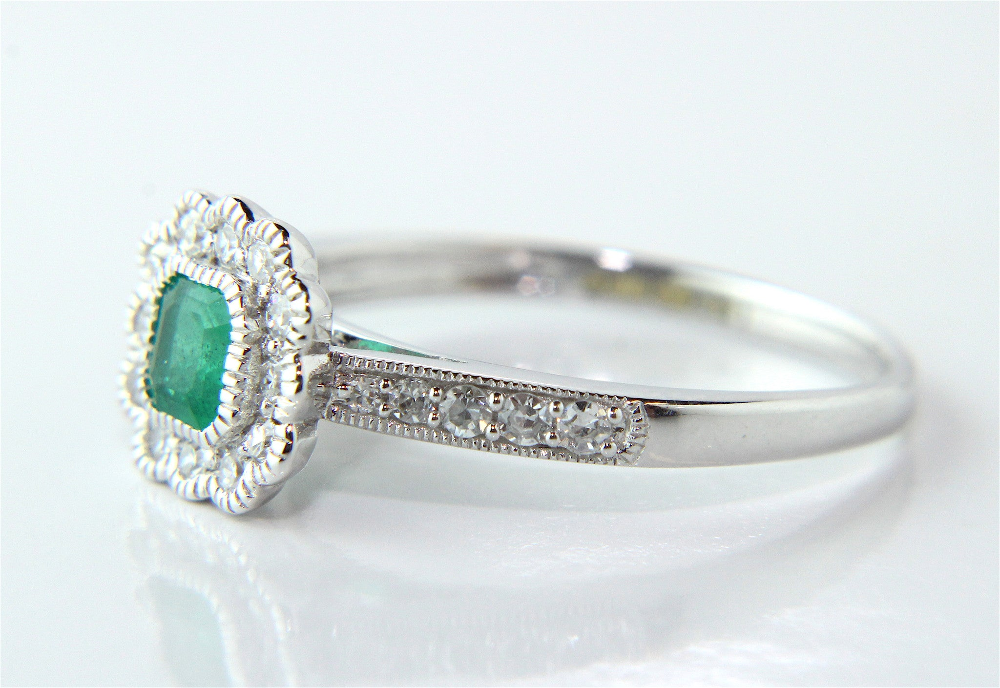 Dublin S Diamond Specialist Emerald Engagement Rings