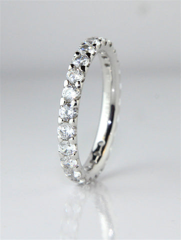 Campbell Platinum Full Hoop Diamond Wedding & Eternity Ring 1.50ct