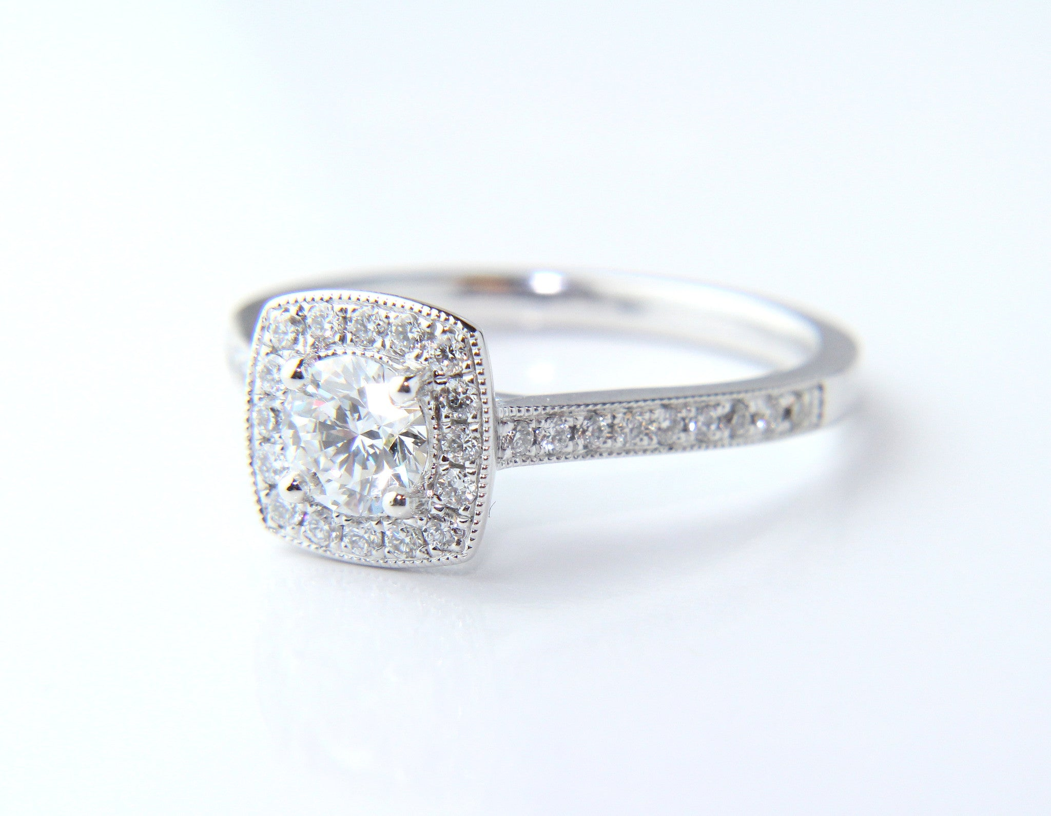 rings with engagement halo white gia diamond certified exeter ring gold product