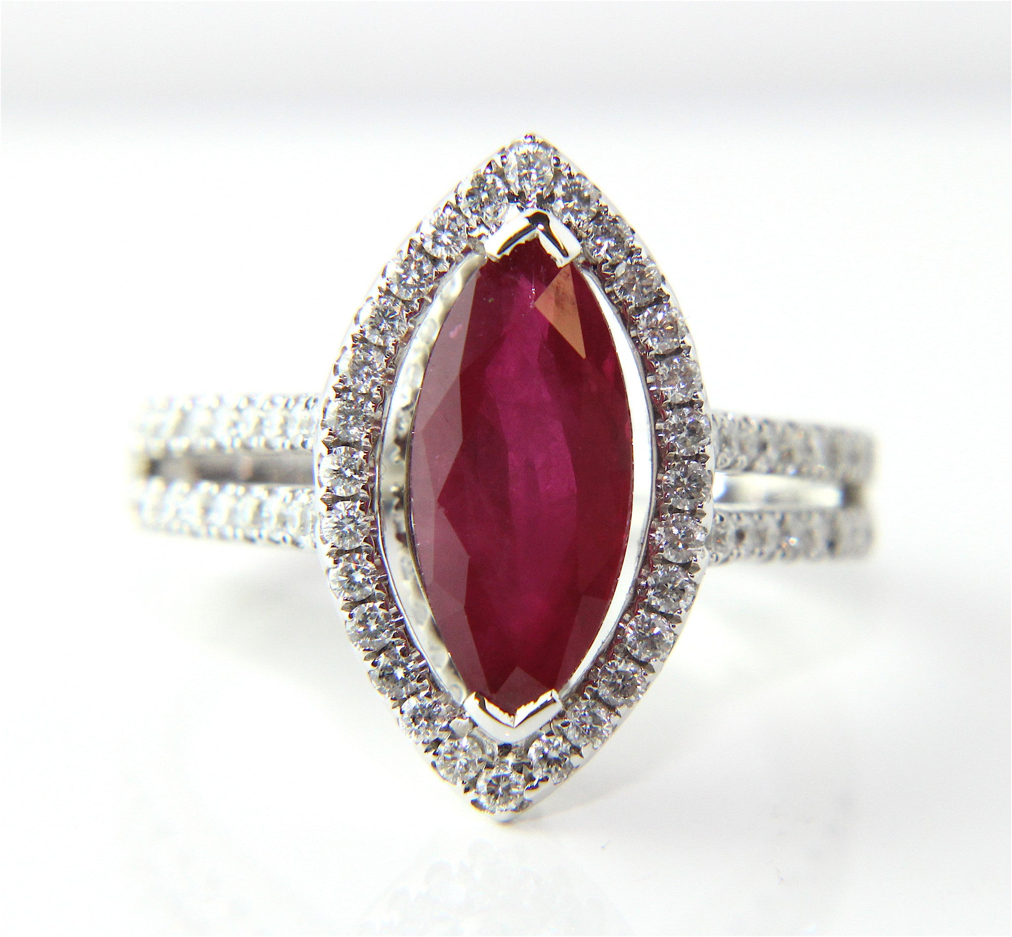 shape rudy side collections oval classic diamond stones rings an pear featuring ring cushion graff ruby red cut with a