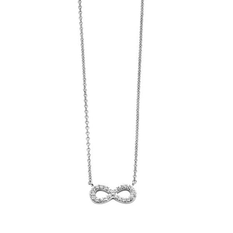Silver Infinity Pendant - Campbell Jewellers