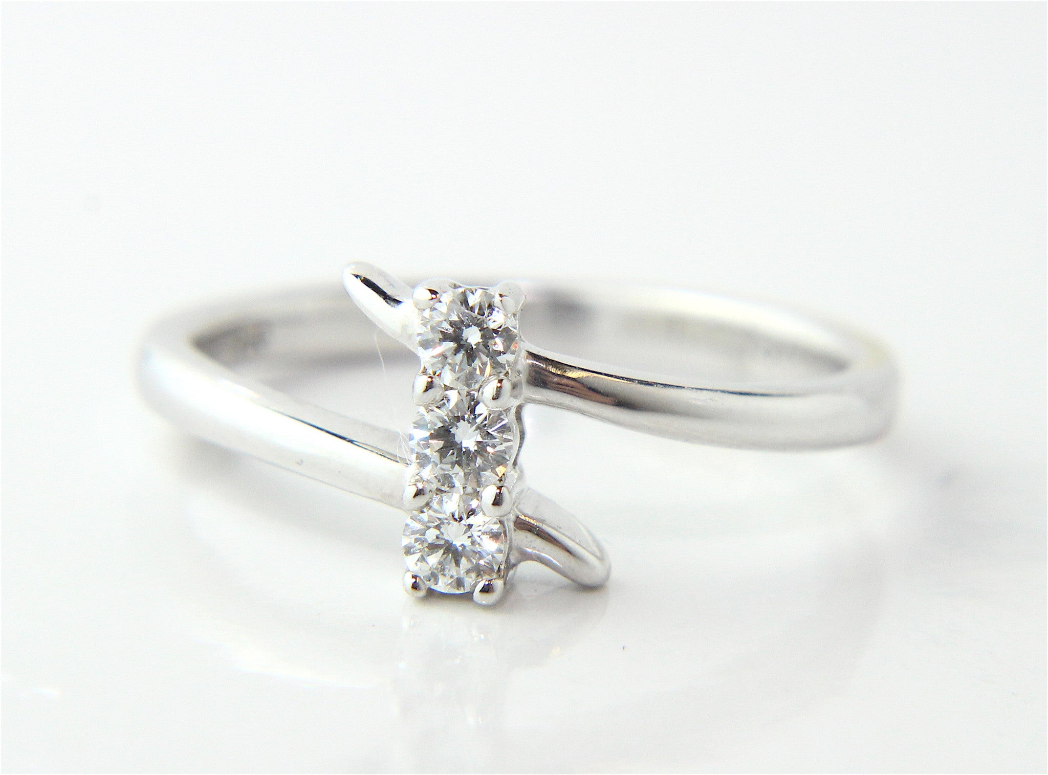 diamond smoky rings engagement yellow ring rosecut of dainty setting collections prong gold jewelry anueva grey galaxy