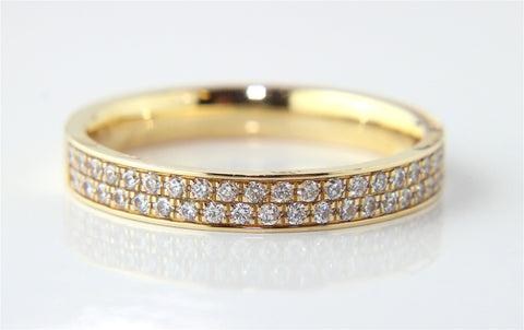 Campbell 18ct Yellow Gold Wedding & Eternity Ring 0.40ct - Campbell Jewellers  - 1