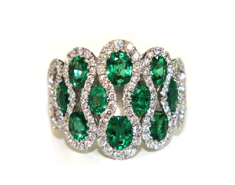 Campbell Emerald Oval Cut Ring 2.78ct - Campbell Jewellers  - 1