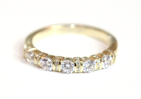 Campbell Intricate Bar Set Wedding & Eternity Ring 0.60ct - Campbell Jewellers  - 1