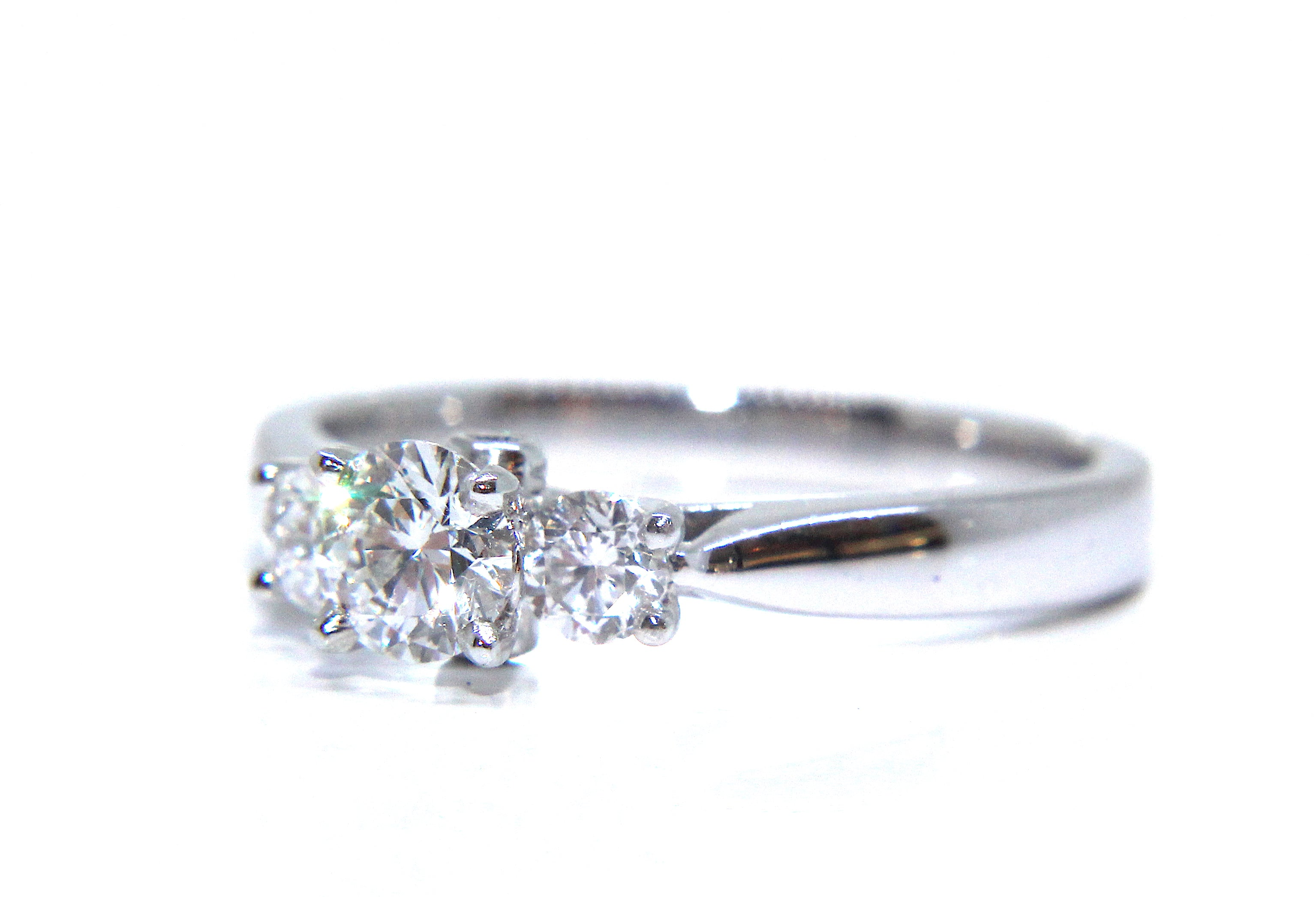 bespoke page diamond ring rings and petal gold setting engagement