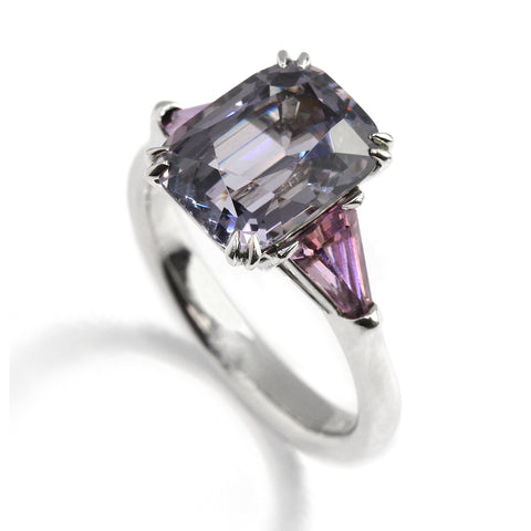 Ronan Campbell Grey Pink Spinel Ring