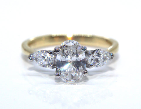 Oval Diamond Engagement Ring | Campbell Jewellers