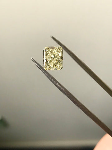 2.10ct U-V VVS1 Radiant Cut GIA Certified Diamond