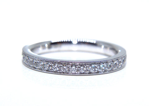 Platinum Diamond Wedding/eternity Ring - Campbell Jewellers