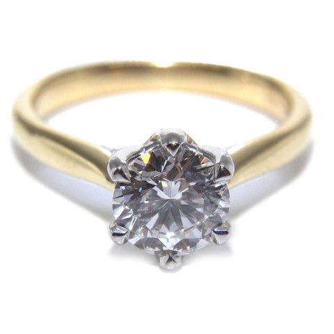 Campbell Six Eagle Claw Solitaire 1.25ct | Campbell Jewellers