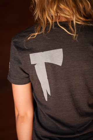 The Long Dark® T-Shirt - Women's Axe on the Back