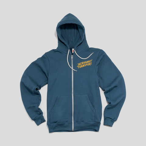 Jackrabbit Transport Hoodie full view.