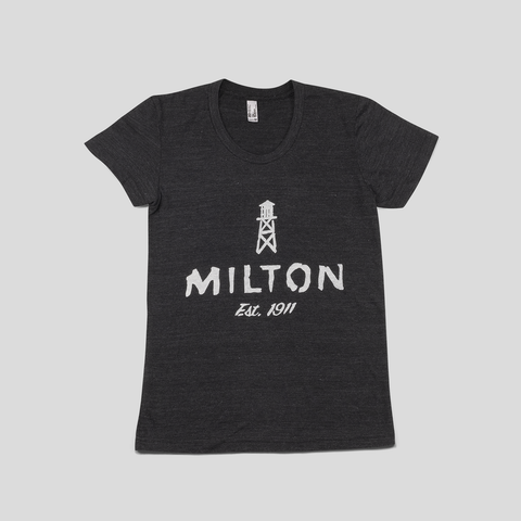 Town of Milton t-shirt for women.