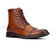 Jazamé Men's Carson Tall Military Fashion Zipper Rugged Urban Dress Boots