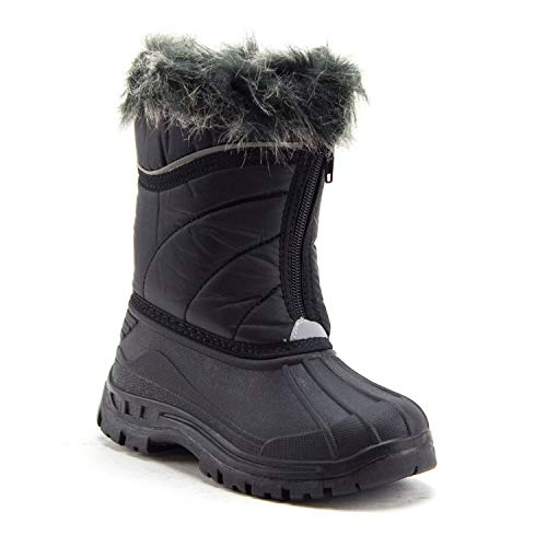 Jazamé Toddler Girls' ICY Waterproof Fur Lined Winter Rain Snow Boots - Jazame, Inc.