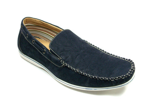 Mens Polar Fox Casual Loafers Blue Shoes 30195