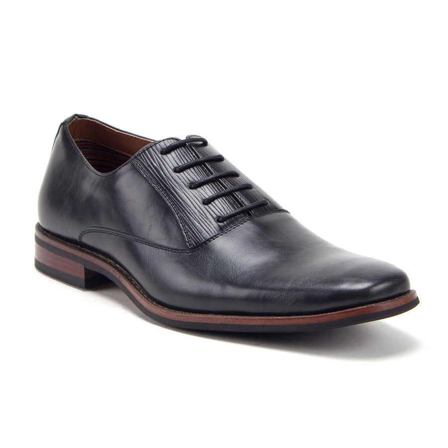 Men's 20637L Classic Round Toe Lace Up Balmoral Oxfords Dress Shoes - Jazame, Inc.