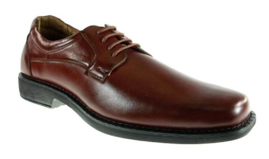 Mens Delli Aldo Classic Lace Up Oxfords Dress Shoes 16059 Brown-295 - Jazame, Inc.