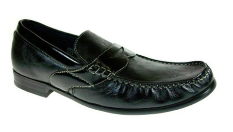 Mens Ferro Aldo Penny Loafers Slip On Shoes 19232 Black-323