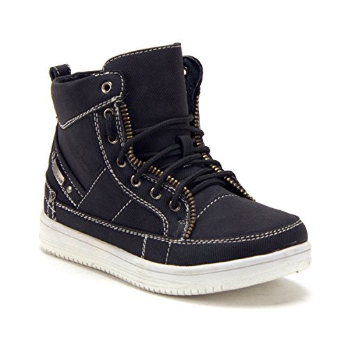 Jazame Youth Little Boys High Top Chukka Boots Sneakers Shoes