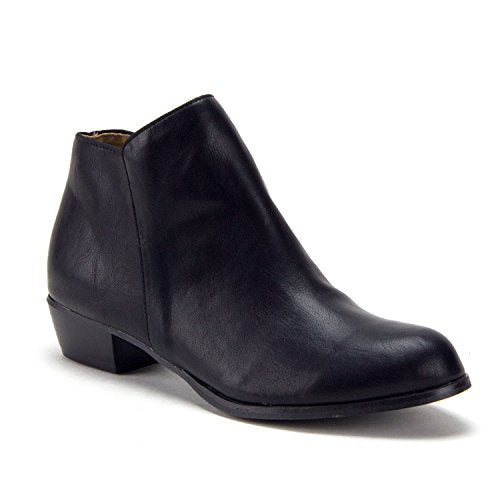 Women's Jazme Chelsea Round Toe Ankle Dress Boots - Jazame, Inc.