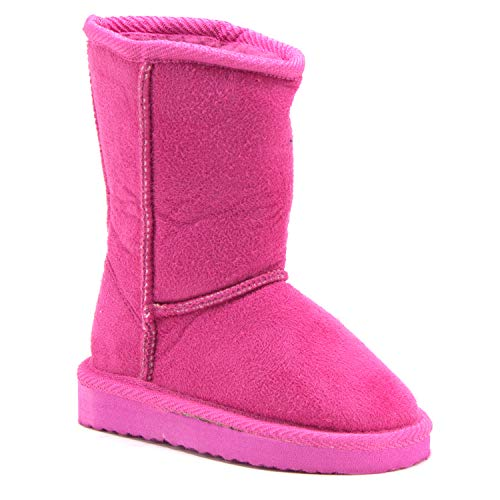 Girls Betty-01 Classic Slip On Fur Lined Fashion Winter Boots - Jazame, Inc.