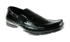 Mens Delli Aldo Spider Print Casual Mocassin Loafers Shoes 30070 Black-90 - Jazame, Inc.