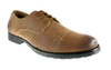 Mens Delli Aldo Distressed Lace Up Casual Oxfords Shoes 30137 Brown-163 - Jazame, Inc.