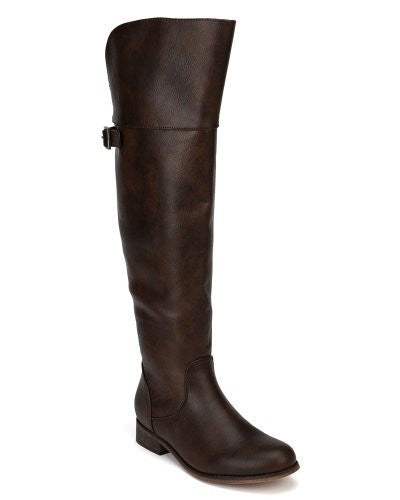 Women's Rider-24 Equestrian Motorcycle Over the Knee Riding Boots - Jazame, Inc.