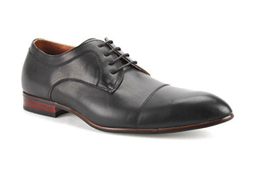 Ferro Aldo Men's 19378-L Cap Toe Lace Up Oxfords Dress Shoes - Jazame, Inc.