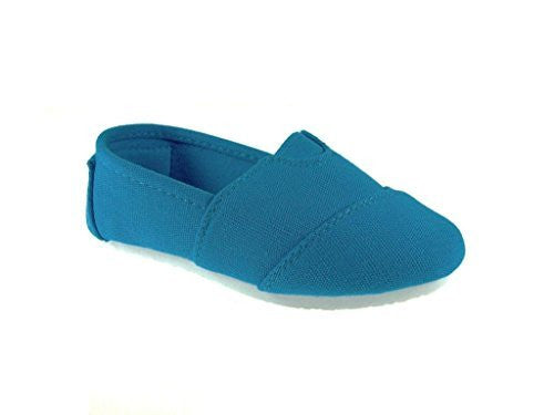 Toddler Girls Ositos Tammy-135I Canvas Slip On Flat Shoes - Jazame, Inc.