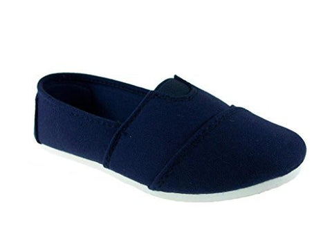 Girls Ositos Tammy-135K Canvas Slip On Flat Shoes