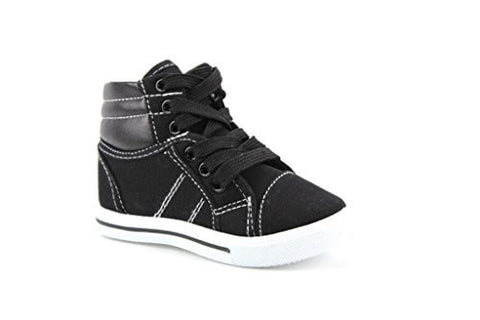 Toddlers Ositos 8081-I Canvas High Top Fashion Sneakers