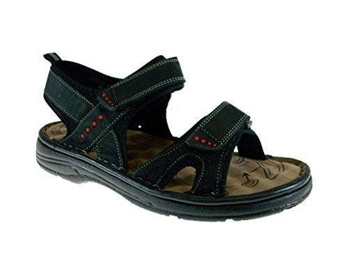 J's Awake Men's Marcos-06 Open Toe Sports Adjustable Strap Sandals - Jazame, Inc.