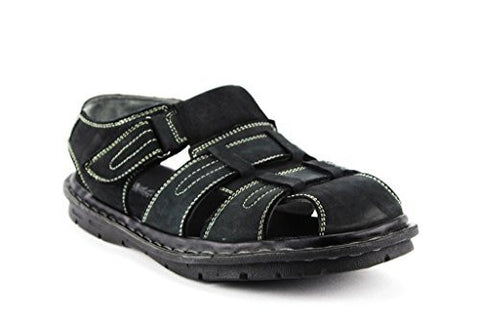 New Men's S-502 Heel Strap Fisherman Leather Sandals
