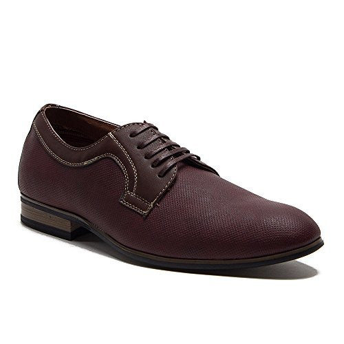 Ferro Aldo Men's 19380DL Perforated Derby Lace Up Oxfords Shoes - Jazame, Inc.