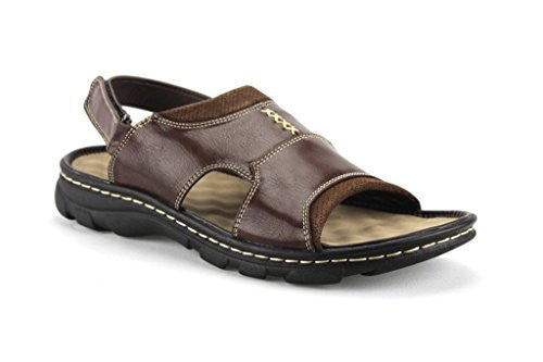 Rocus Men's JF5-45 Comfort Open Toe Sandals Shoes - Jazame, Inc.
