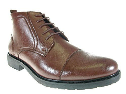 Polar Fox Men's 582 Cap Toe Chukka Ankle High Boots - Jazame, Inc.