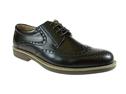 J Awake Men's Edison12 Classic Wing Tip Oxfords Shoes