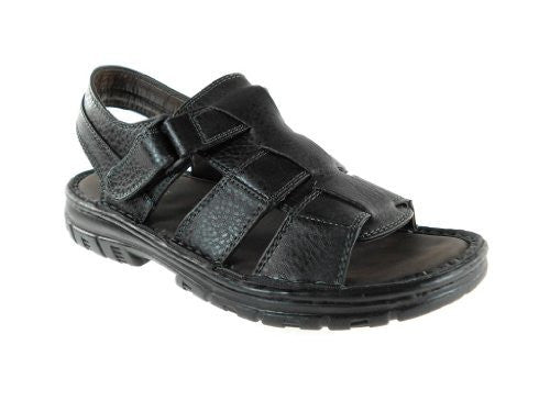 Rocus Men's San16 Sling Back Open Toe Sandals - Jazame, Inc.