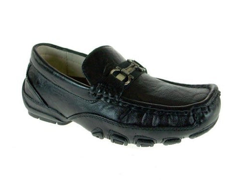 Easy Strider Boy's 23722 Casual Dress Driving Shoe with Horsebit Detail
