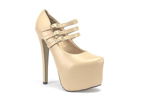 Women's Timeless-016 High Heel Platform Pumps