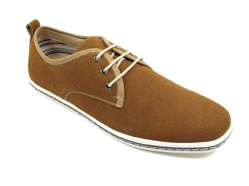 Polar Fox Men's 30207S Low Rise Moccasin Lace Up Casual Shoes - Jazame, Inc.