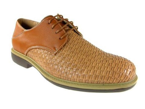 J Awake Men's Edwin39 Woven W/jute Oxford Shoes