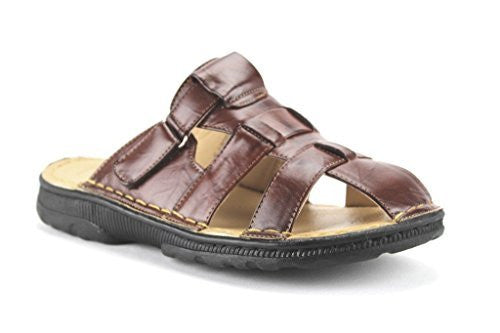 Majestic Men's 28501 Fisherman Slip On Comfort Sandals - Jazame, Inc.
