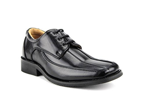 New Boys 31229 Leather Lined Classic Lace Up Oxford Shoes - Jazame, Inc.