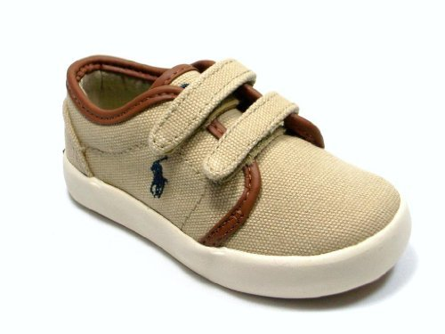 Polo Ralph Lauren Kids Ethan Low EZ Sneaker (Toddler) - Jazame, Inc.