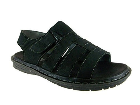 J's Awake Men's Diego-05 Open Toe Fisherman Sandals