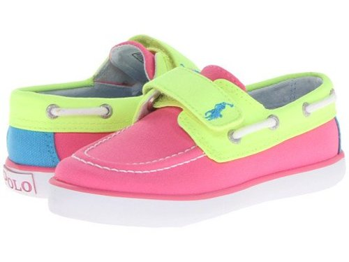 Polo by Ralph Lauren Sander EZ Boat Shoe (Toddler)